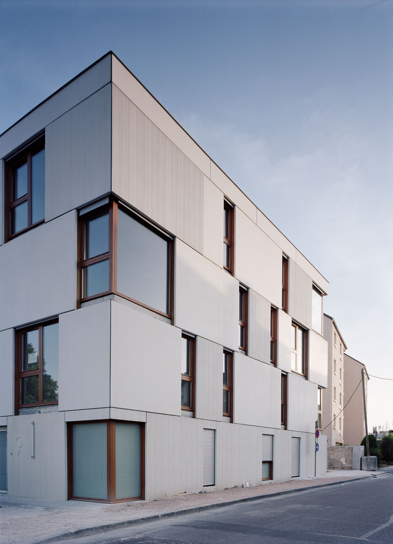 Construction de 20 logements collectifs dijon 21 for Habitat 21 dijon